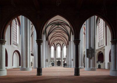 Die Nikolaikirche - Blick nach Osten vor der Neueinrichtung 2010
