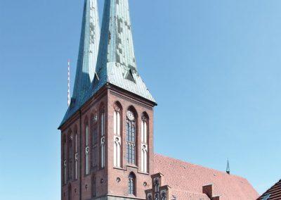 Die Nikolaikirche – Ansicht von Südwesten