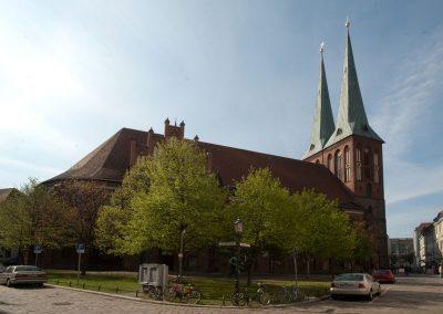 Ansicht der Nikolaikirche von Nordosten